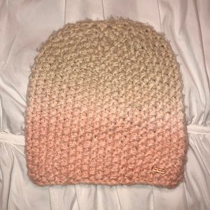 Free People Knit Blush Pink Ombré Beanie